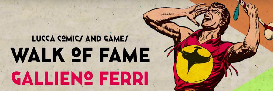 Gallieno Ferri nella Walk of Fame