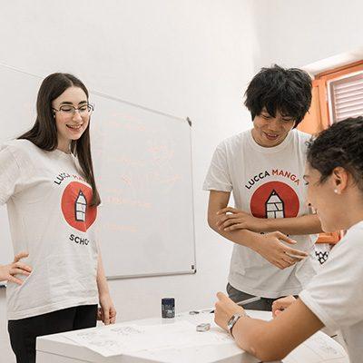 La Lucca Manga School vi dà appuntamento a Collezionando 2019.