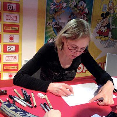 Silvia Ziche, il secondo ospite d'onore